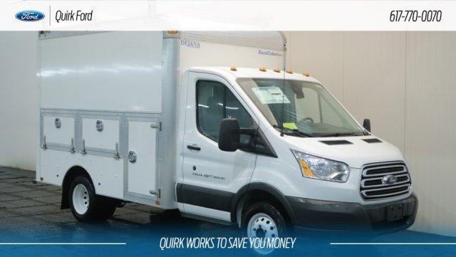 2018 Transit 350 HD DRW 4x2,  Dejana Truck & Utility Equipment Service Utility Van #F108278 - photo 1