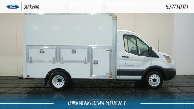 2018 Transit 350 HD DRW 4x2,  Dejana Truck & Utility Equipment Service Utility Van #F108278 - photo 3