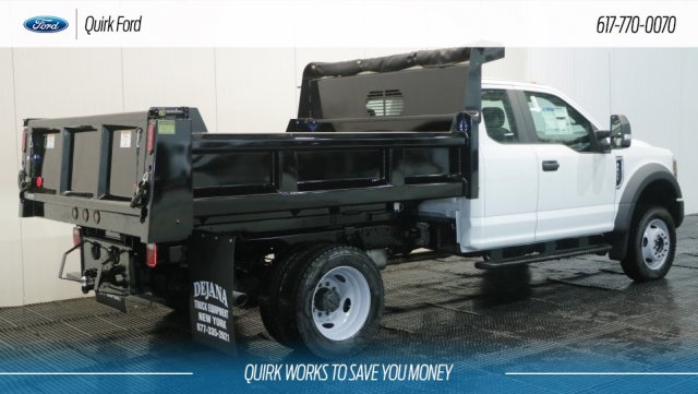 2018 F-550 Super Cab DRW 4x4,  Rugby Dump Body #F108292 - photo 2