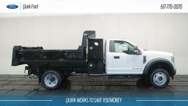 2018 F-550 Regular Cab DRW 4x4,  Rugby Dump Body #F108302 - photo 3
