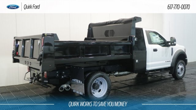 2018 F-550 Regular Cab DRW 4x4,  Rugby Dump Body #F108302 - photo 2