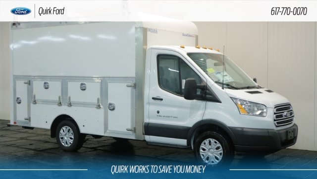 2018 Transit 350 4x2,  Dejana Truck & Utility Equipment Service Utility Van #F108332 - photo 1