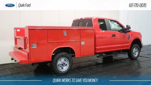 2018 F-250 Super Cab 4x4,  Reading Service Body #F108448 - photo 2
