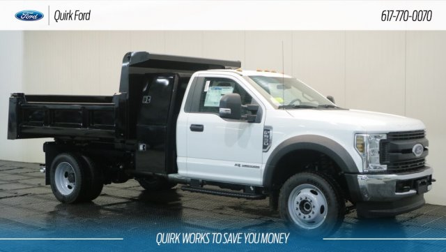 2018 F-550 Regular Cab DRW 4x4,  Rugby Eliminator LP Steel Dump Body #F108467 - photo 1