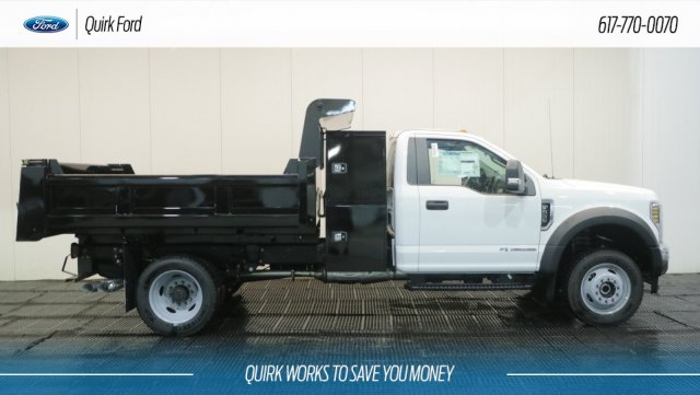2018 F-550 Regular Cab DRW 4x4,  Rugby Eliminator LP Steel Dump Body #F108467 - photo 3