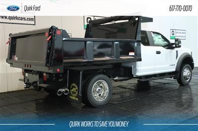 2018 Ford F-550 DRW XL 9' IROQUOIS DUMP BODY #F108521 - photo 2