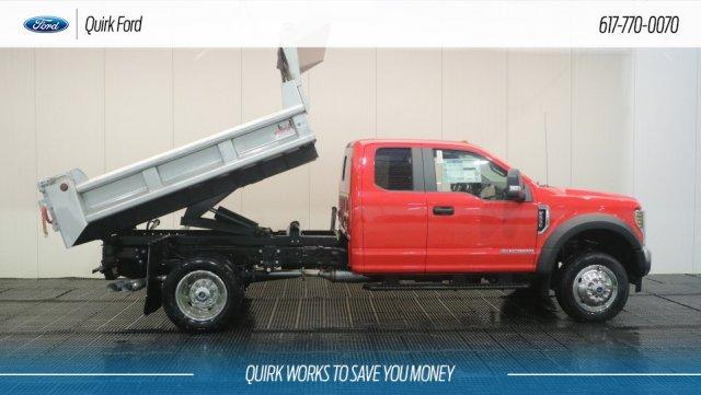 2018 F-550 Super Cab DRW 4x4,  Galion 103U Dump Body #F108524 - photo 5