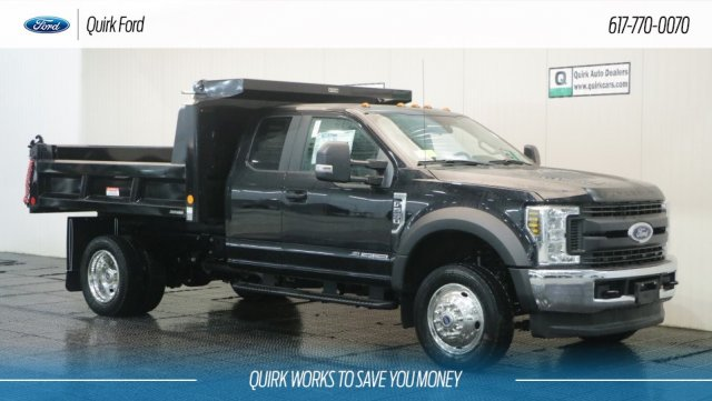 2018 F-550 Super Cab DRW 4x4,  Reading Dump Body #F108543 - photo 1