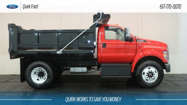 2019 F-650 Regular Cab DRW 4x2,  Godwin Dump Body #F108559 - photo 3