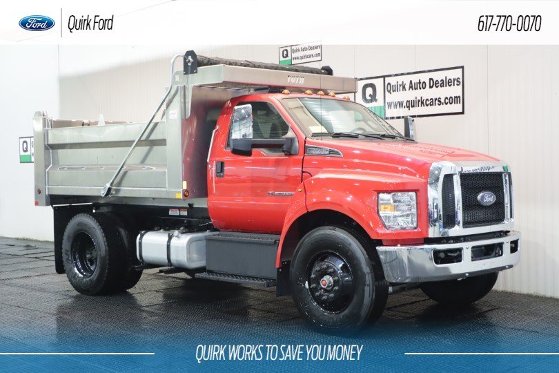 2019 Ford F-650 Diesel Straight Frame 10' VOTH ALUMINUM DUMP BODY #F108598 - photo 1