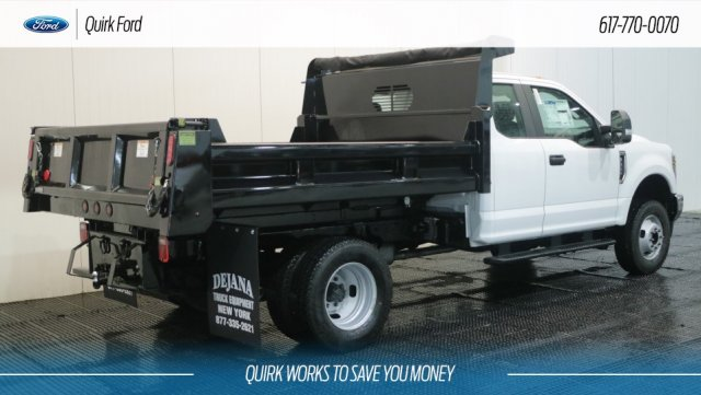 2018 F-350 Super Cab DRW 4x4,  Rugby Dump Body #F108605 - photo 2