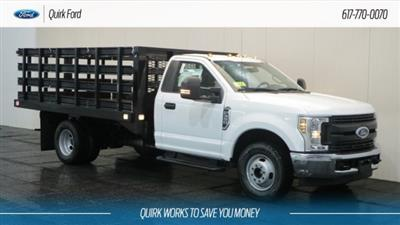 2018 F-350 Regular Cab DRW 4x2,  Knapheide Value-Master X Stake Bed #F108610 - photo 1