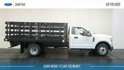 2018 F-350 Regular Cab DRW 4x2,  Knapheide Value-Master X Stake Bed #F108610 - photo 3