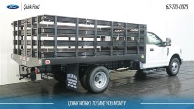 2018 F-350 Regular Cab DRW 4x2,  Knapheide Value-Master X Stake Bed #F108610 - photo 2