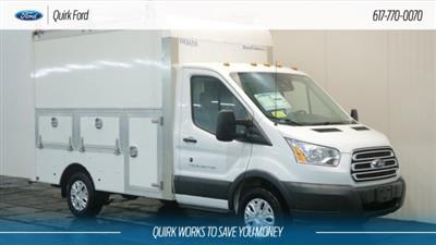2018 Transit 350 4x2,  Dejana Truck & Utility Equipment DuraCube Max Service Utility Van #F108666 - photo 1
