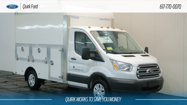 2018 Transit 350 4x2,  Dejana Truck & Utility Equipment Service Utility Van #F108667 - photo 1