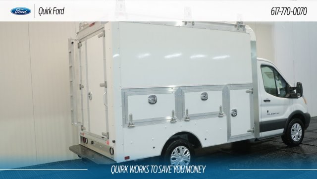2018 Transit 350 4x2,  Dejana Truck & Utility Equipment Service Utility Van #F108667 - photo 1