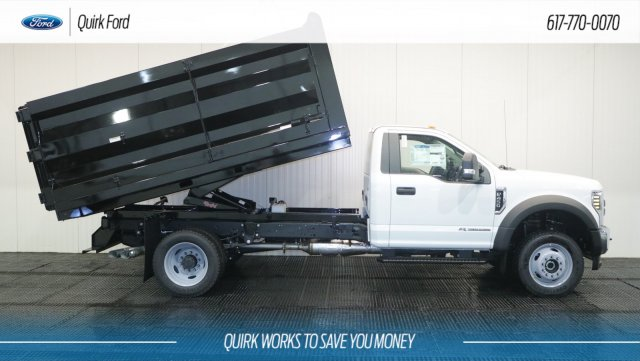 2018 F-450 Regular Cab DRW 4x4,  Rugby Landscape Dump #F108690 - photo 4
