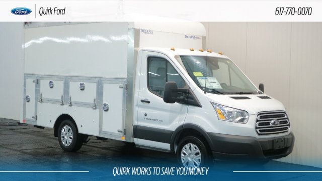 2018 Transit 350 4x2,  Dejana Truck & Utility Equipment Service Utility Van #F108758 - photo 1