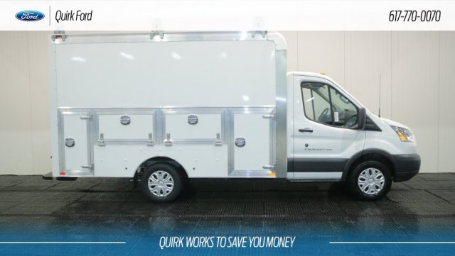 2018 Transit 350 4x2,  Dejana Truck & Utility Equipment Service Utility Van #F108758 - photo 3