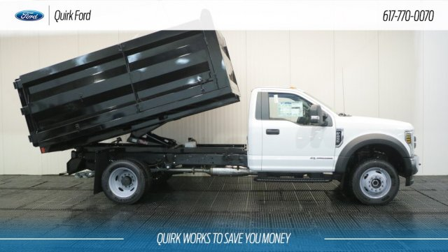 2018 F-450 Regular Cab DRW 4x4,  Rugby Landscape Dump #F108804 - photo 4