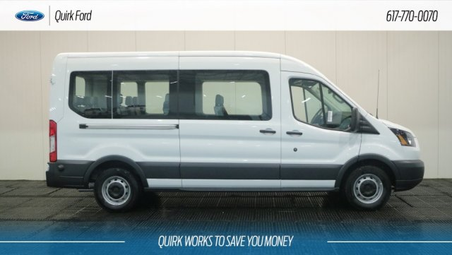 2018 Transit 350 Med Roof 4x2,  Passenger Wagon #F108827 - photo 3