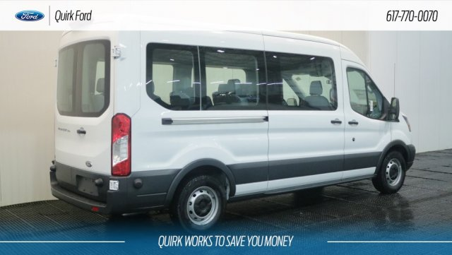 2018 Transit 350 Med Roof 4x2,  Passenger Wagon #F108827 - photo 2
