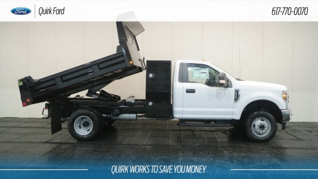 2018 F-350 Regular Cab DRW 4x4,  Rugby Dump Body #F108830 - photo 4