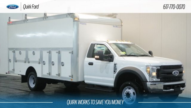 2018 F-550 Regular Cab DRW 4x2,  Dejana Truck & Utility Equipment Service Utility Van #F108841 - photo 1