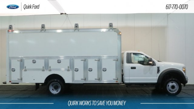 2018 F-550 Regular Cab DRW 4x2,  Dejana Truck & Utility Equipment Service Utility Van #F108841 - photo 3