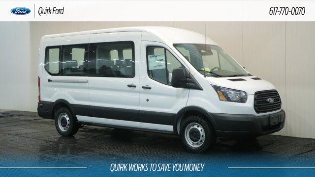 2019 Transit 350 Med Roof 4x2,  Passenger Wagon #F109061 - photo 1