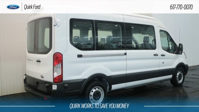 2019 Transit 350 Med Roof 4x2,  Passenger Wagon #F109220 - photo 2