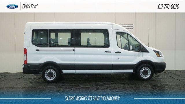 2019 Transit 350 Med Roof 4x2,  Passenger Wagon #F109279 - photo 3