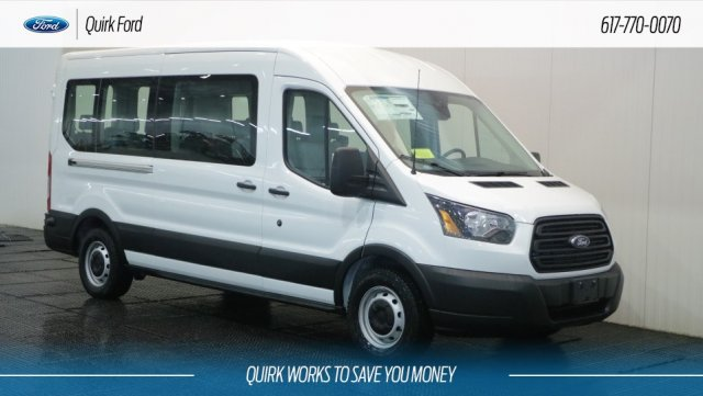 2019 Transit 350 Med Roof 4x2,  Passenger Wagon #F109280 - photo 1