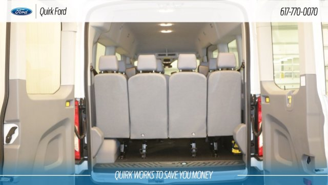 2019 Transit 350 Med Roof 4x2,  Passenger Wagon #F109280 - photo 4