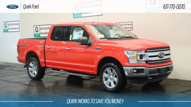2018 F-150 SuperCrew Cab 4x4,  Pickup #F109291 - photo 1