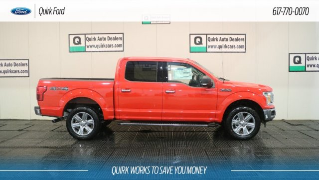 2018 F-150 SuperCrew Cab 4x4,  Pickup #F109291 - photo 3