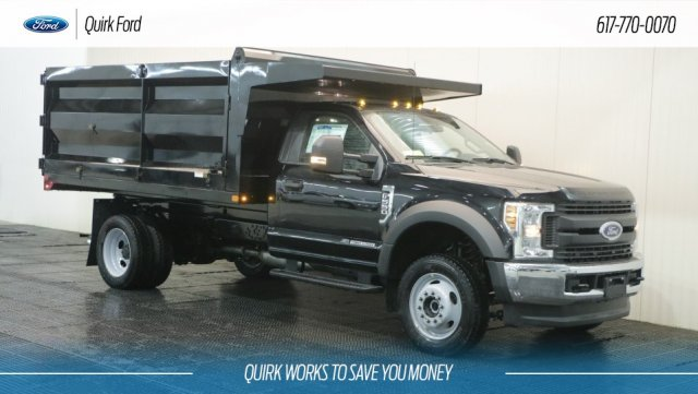 2019 F-550 Regular Cab DRW 4x4,  Rugby Landscape Dump #F109303 - photo 1