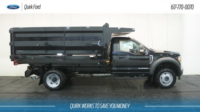 2019 F-550 Regular Cab DRW 4x4,  Rugby Landscape Dump #F109303 - photo 3