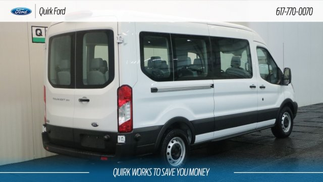 2019 Transit 350 Med Roof 4x2,  Passenger Wagon #F109304 - photo 2