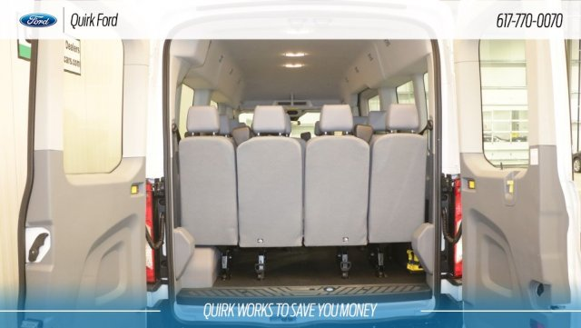 2019 Transit 350 Med Roof 4x2,  Passenger Wagon #F109304 - photo 4