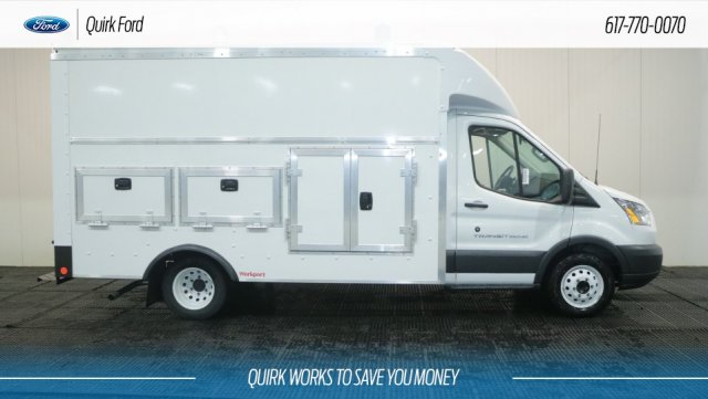 2018 Transit 350 HD DRW 4x2,  Rockport Service Utility Van #F109432 - photo 3