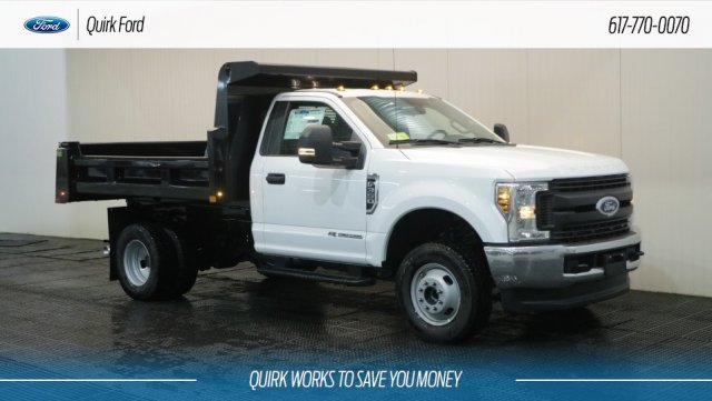 2019 F-350 Regular Cab DRW 4x4,  Rugby Dump Body #F109436 - photo 1