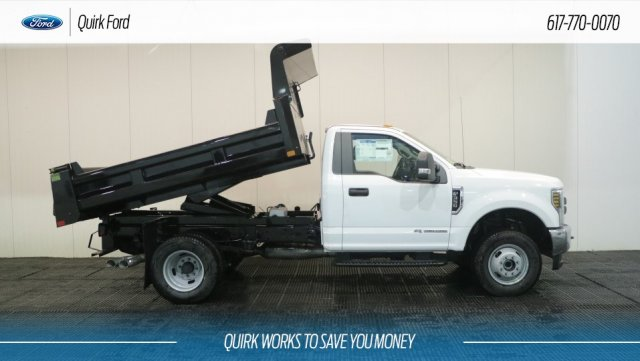 2019 F-350 Regular Cab DRW 4x4,  Rugby Dump Body #F109436 - photo 11