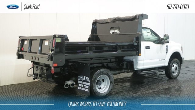 2019 F-350 Regular Cab DRW 4x4,  Rugby Dump Body #F109436 - photo 2