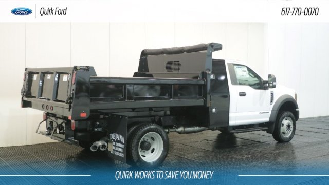 2019 F-450 Regular Cab DRW 4x4,  Rugby Dump Body #F109464 - photo 1