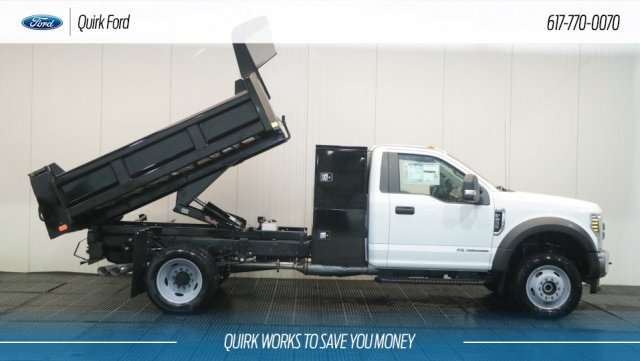2019 F-450 Regular Cab DRW 4x4,  Dump Body #F109480 - photo 4