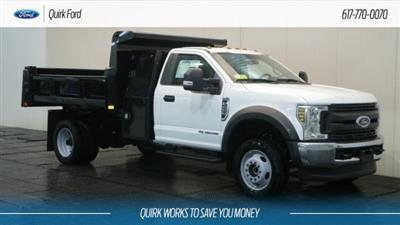 2019 F-450 Regular Cab DRW 4x4,  Dump Body #F109480 - photo 1