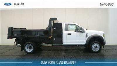 2019 F-450 Regular Cab DRW 4x4,  Dump Body #F109480 - photo 3