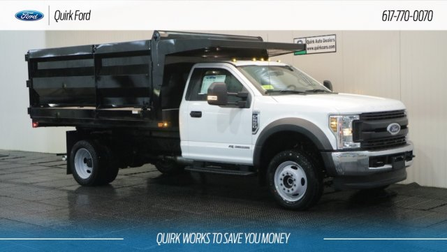 2019 F-550 Regular Cab DRW 4x4,  Rugby Landscape Dump #F109543 - photo 1